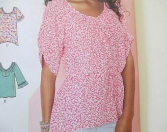 Misses' Tunic of Top Pattern, Uncut, Sizes 6, 8, 10, 12, 14