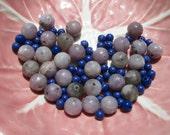 Beads in Purple