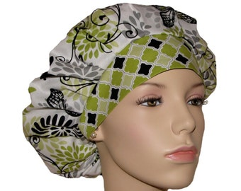 Scrub Hats - Glamour Girl Butterfly Floral