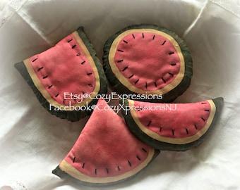 Primitive Watermelon Bowl Fillers