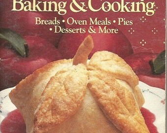 Vintage 1989 Pillsbury County Baking & Cooking Cookbook