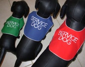 Service Dog  vest  Custom made