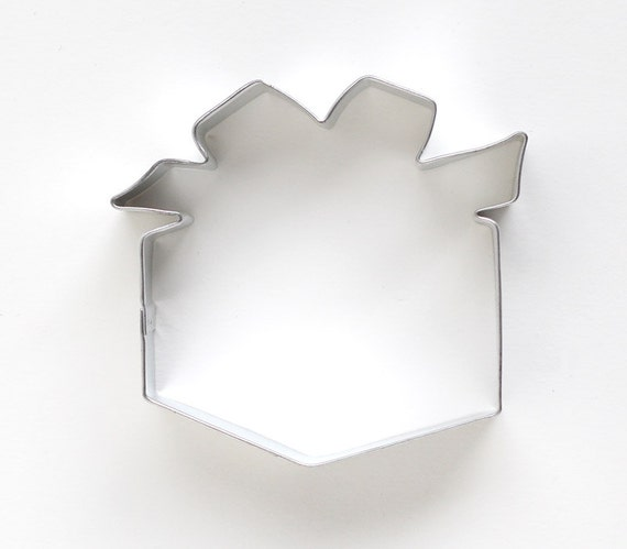 Gift Cookie Cutter, Present Cookie Cutter