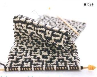 Warm Knitting Patterns, Kotomi Hayashi, Japanese Knitting Pattern Book for Winter Goods, Easy Knitting Tutorial, Scarf, Mitten, Socks, B633