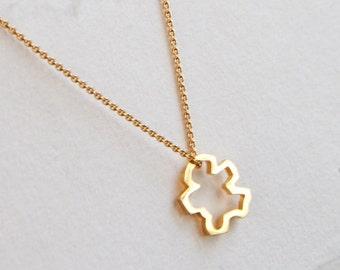 Gold Chibi Pendant, Gold Chibi Necklace, Gold Buddha Jewelry, Buddhist Jewelry, Meditation Jewelry, Spiritual Necklace, Buddha Accessories
