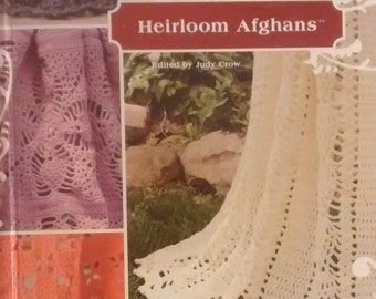 Heirloom Afghans Crochet Pattern Book