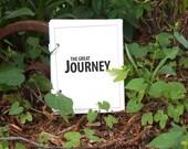 Vacation Journal, Travel Journal - Journey in White Sandy Beach