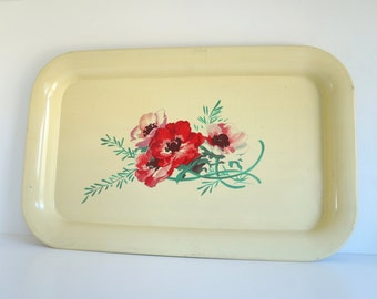 Small Floral Tray