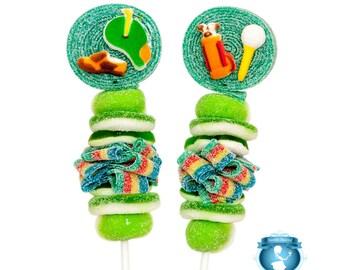 10 Golf Candy Kabobs