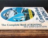 Vintage Complete Book of Boating 1976