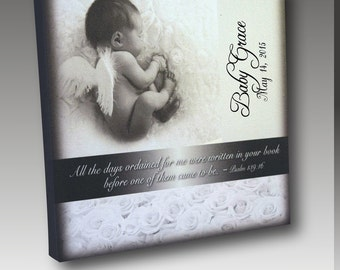 Angel Baby Canvas Wrap