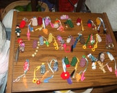 crocheted pencil toppers with dangles