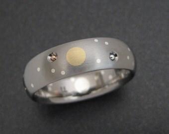 Titanium Celestial Ring