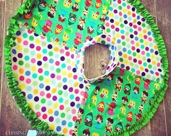 Knit Circle Skirt Sewing Pattern, Take 5, Easy Skirt Pattern Jersey Knit, Girls Knit Skirt Pattern, Upcycle Tee Shirt Pattern Game Day Skirt