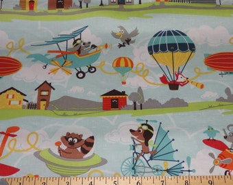 Little Flyers Cotton Fabric by Riley Blake Designs - 1 Yard