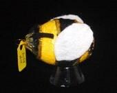 Eggshell Ornament Glitter Bee