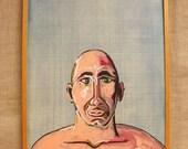 Wil Shepherd Portrait , Male Portrait , Portrait Painting , Portrait , Fine Art , Male Portraiture , Wil Shepherd Studio , Original Art