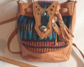 Cute Mini Southwestern Shoulder Pouch