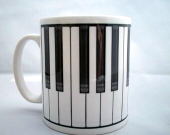 Piano Mug musician gift