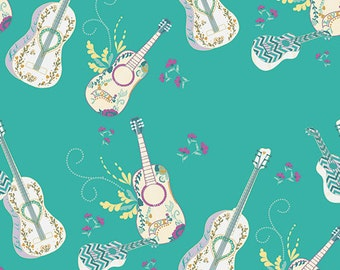 Art Gallery Fabric's Anna Elise - Let it Be (Breeze) 1 yard