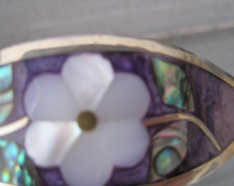 Silver with inlay shell Bracelet