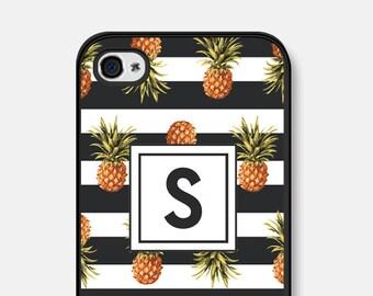 Monogram iPhone 6 Plus Case Pineapple - Monogram iPhone 6 Case - Monogram iPhone Case - Monogram iPhone 5s Case - Monogram iPhone 5c Case