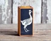 Farm Animal Candleblock: No. 1, Smokestack Invisible Chicken - by Peg and Awl