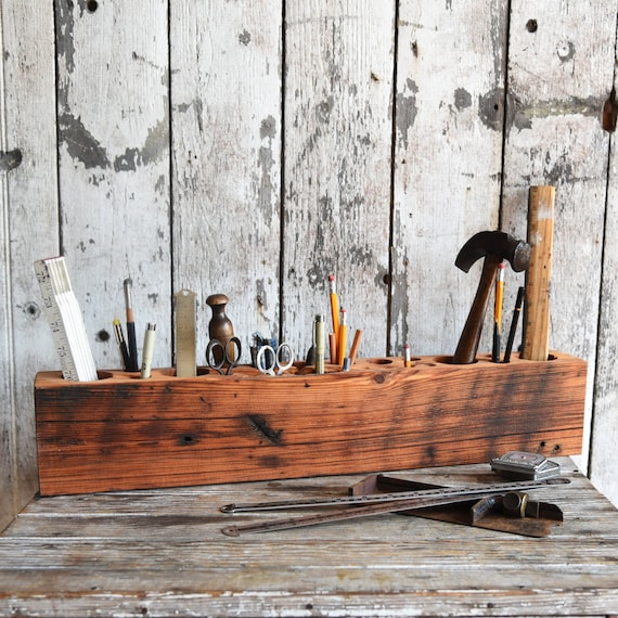 Epic Desk Caddy by Peg and Awl