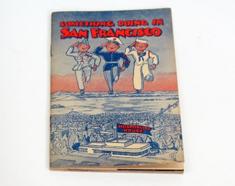 Something Doing in San Francisco WWII Serviceman's Guide - ACME Beer advertising