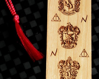 how to make a harry potter bookmark