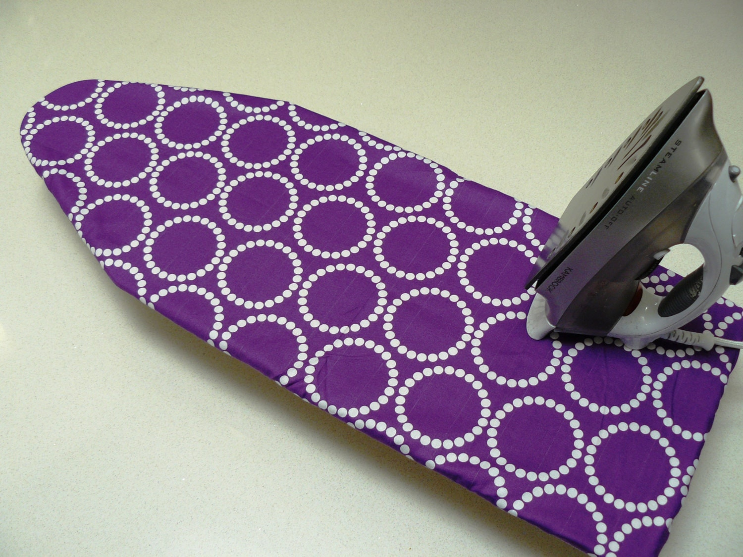 ironing board cover table top purple with by modernhomewares. Black Bedroom Furniture Sets. Home Design Ideas