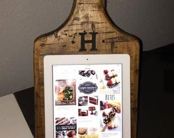 Handmade Cutting Board Ipad/Cookbook Holder
