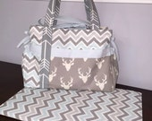 Baby Boy Diaper Bag - Choose Your Own Fabric