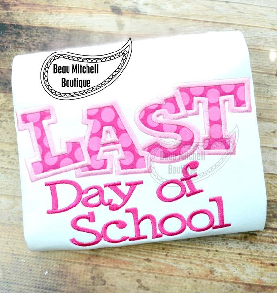 Último día de aplicación de la escuela por BeauMitchellBoutique