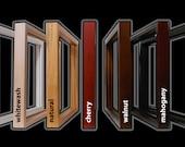 Gallery Wood Shadow Box Frame with Veneer Finish