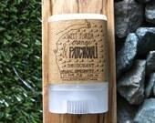 Organic Deodorant - MINI Patchouli & Orange Stick Deodorant