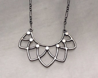 Trellis Necklace from The Trellis Collection-Sterling Silver