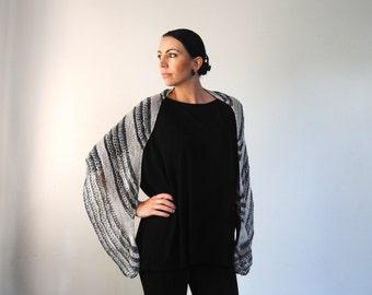 AILE shawl knitting pattern PDF