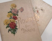 Paper Ephemera Floral Paper Scrap - Junk Jurnal Books - Inspiration Poetry Books