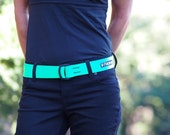 Fat Nylon Belt - HI -Viz Green