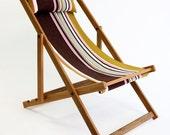 Tywyn Chartreuse Deckchair