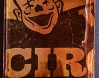 Circus Domino Game Tile Pendant