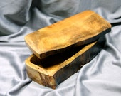 men's jewelry Handcrafted rustic woodland natural edge valet box Maple burl Jewelry fifth anniversary wedding gift birds eye maple rustic