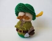 Robin Hood toy doll knitting patterns