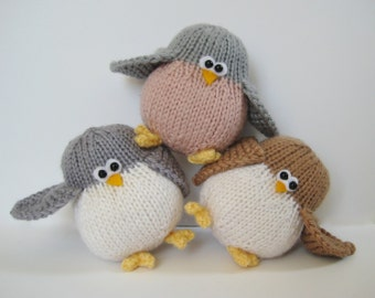 Juggle birdies nest and egg toy knitting patterns