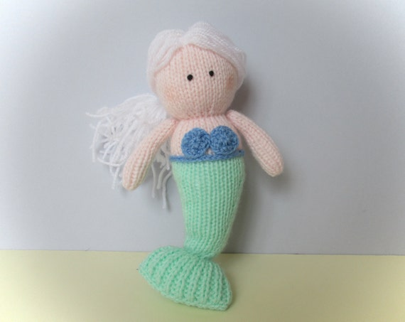 Marina the Mermaid toy knitting patterns