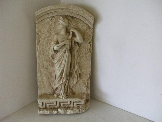 romain grec wall plaque sculpture murale belle d esse 3d. Black Bedroom Furniture Sets. Home Design Ideas