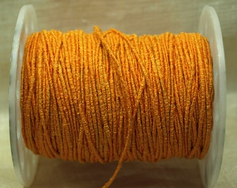 Bulk Cording! 10 Feet of Textured, Bright Orange Cording. CRD4009
