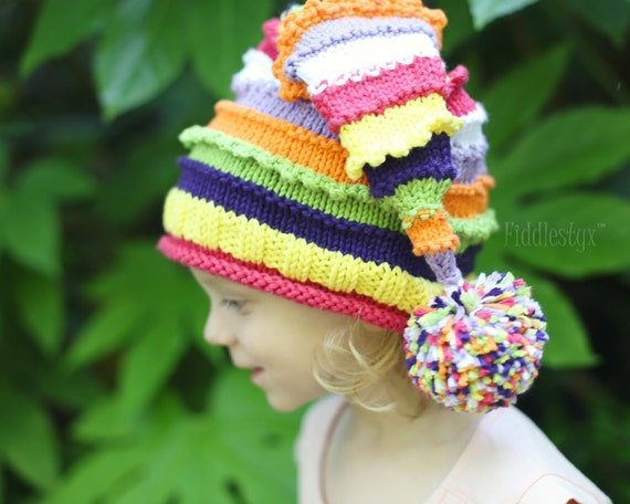 Knitting Pattern - Stocking Hat Pattern - the LUCY Hat ...