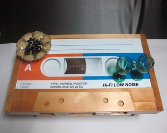 Cassette Tape Coffee Table - Pine wood